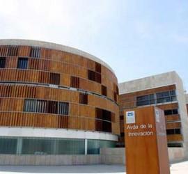 Fotografía del edificio BIC perteneciente al Parque Tecnológico de la Salud de Granada