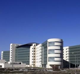 Fotografía de varios edificios del Campus del Parque Tecnologico de la Salud de Granada