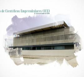 Imagen del cartel del encuentro de cientificos emprendedores en Granada