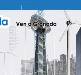 Cartel de OnGranada Tech City para las jornadas de contratación para el sector tecnológico