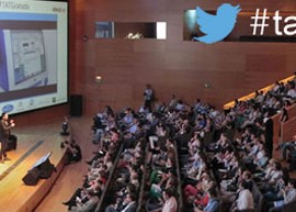 Conferencia de la jornada de Talking About Twitter