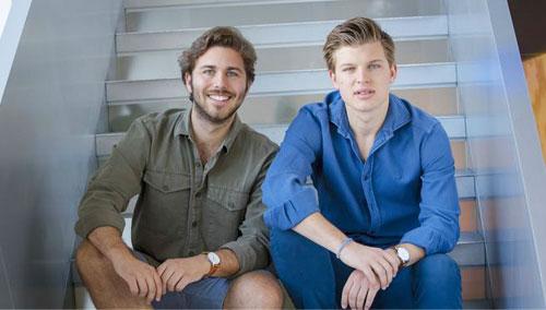 Los dos emprendedores granadinos premiados por la aceleradora de startups de Mahou San Miguel 'Barlab