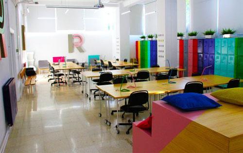 Sala coworking del centro para emprendedores de Granada, Breaker, donde tendrá lugar la 4ª edición de Talento Emprendedor de la UGR